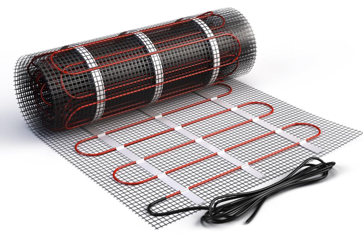 chauffage par le sol lectrique prix d s avantages conseil. Black Bedroom Furniture Sets. Home Design Ideas
