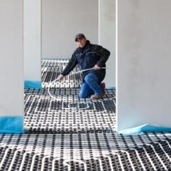 installation chauffage par le sol m thodes et infos sur. Black Bedroom Furniture Sets. Home Design Ideas