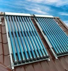 placer chauffe-eau solaire compact